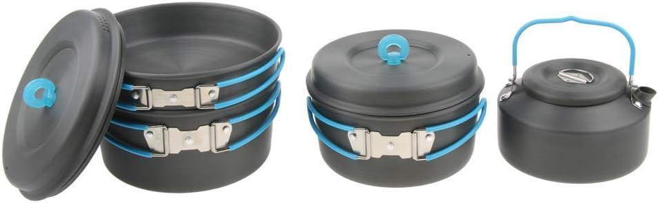 Tubayia - Batería de Cocina portátil para Camping (aleación ...
