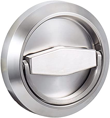 Details about  /Stainless Steel 304 Storeroom Locks Privacy Door Locks Round Bed//Bath Pocket ...