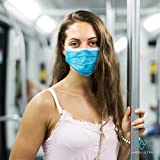 Face Mask with Earloops – 100 Pack – Disposable