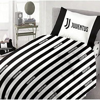 Copripiumino Juventus Singolo.Parure Copripiumino F C Juventus Ufficiale Per Letto Singolo Una