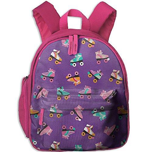 Rollerskate Disco Backpack Boys Girls Toddler School (Disco Footwear)