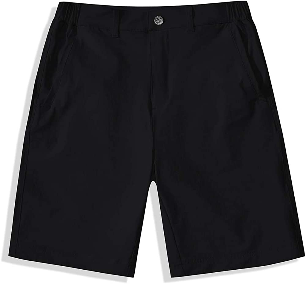BASADINA Kids Shorts for Boys Girls Quick Dry Outdoor Casual Shorts with Moisture Wicking Performance