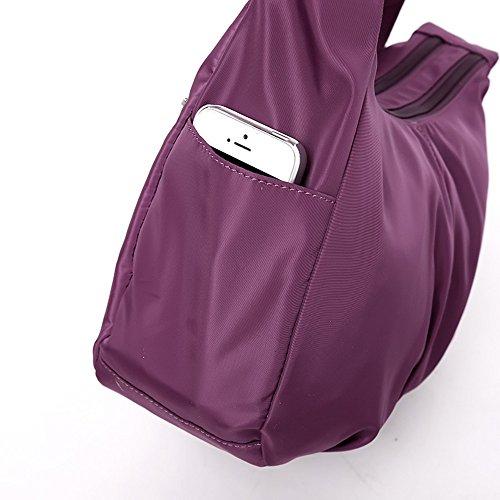 Shoulder Moonbuy Lightweight Bag Cross Blue Navy Messenger Style body Bag Handbag Simple I66xqwTFS