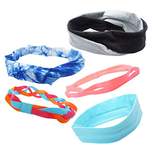 Baby Karate Costume (Sport Headbands For Women- 5 Pieces of Multi Styles For Yoga, Sport Or Casual – Sweat Headband, Headband For Girls, A Style For Every Activity.)