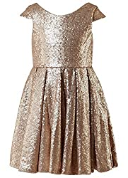 Sequin Tutu Kids Party Dress