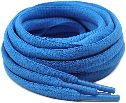 BIRCHs Oval Shoelaces 27 Colors Half Round 1//4 Shoe Laces 4 Different Lengths