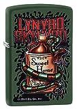 Zippo Lynyrd Skynyrd Pocket Lighter, Green Matte