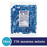 Mentos Individually Wrapped Chewy Mint Candy Bulk Bag, Peppermint, Halloween Candy, Bulk, Party, Non Melting, 37 ounces/385 Pieces (Bulk pack of 2)