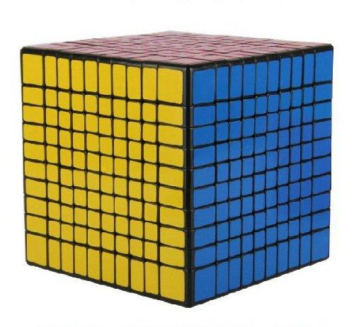 Large Rubiks Cube - New!! Shengshou 10x10x10 Speed Cube Puzzle 10x10 ,Black