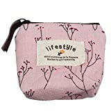 Susenstone®New Small Canvas Purse Zip Wallet Lady Coin Case Bag Handbag Key Holder