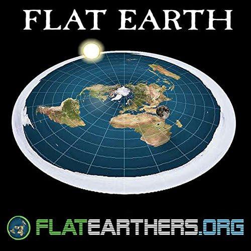 Amazon Com Flat Earth Map Sticker Flatearthers Flat Earth Bumper
