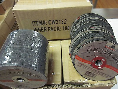 ~ 800 ~ 3'' x 1/32'' thick x 3/8'' AIR METAL CUT OFF WHEEL CUTTING DISC 25,000 RPM by GOLIATH INDUSTRIAL TOOL