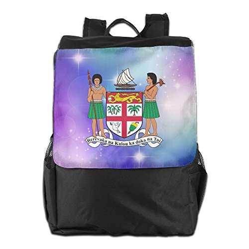 Nollm Coat Of Arms Of Fiji Fashion Backpack Travel Shoulder Bag For Men Women And Teens by Nollm (Image #1)