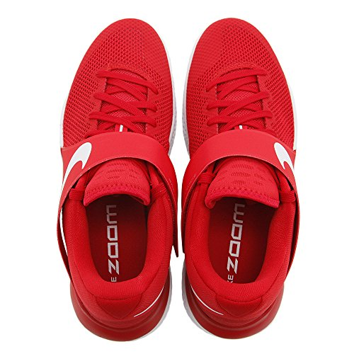 Nike Mens Zoom Live Ep Universiteit Rood / Wit-gym Rood