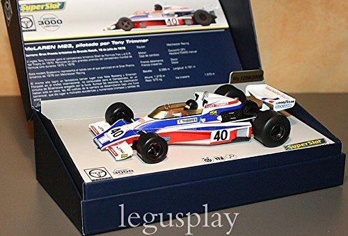 despacho de tienda súperSlot - - - Coche Slot McLaren M23 1978 Tony Trimmer nr. 40 (Hornby S3414A)  en promociones de estadios
