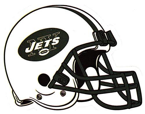 - FB 4 Pack New York Jets Die Cut Stickers NFL Football Logo Sticker Team Helmet Set NY City