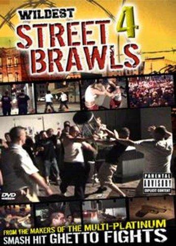 DVD : Wildest Street Brawls, Vol. 4 (Full Frame, Colorized)