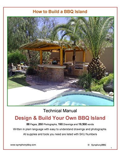 How to Build a BBQ Island: Design and Build your own BBQ Island