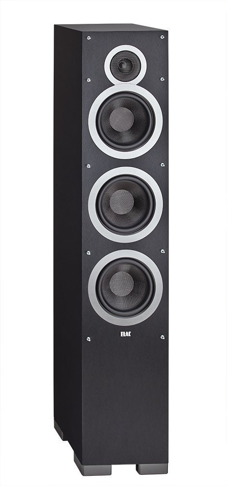 Elac - Debut F6, Floorstanding Loudspeaker (Black - Each/Single) by Elac