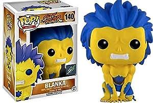 Funko - Figurine Street Fighter - Blanka Yellow Exclu Pop 10cm - 0889698124188