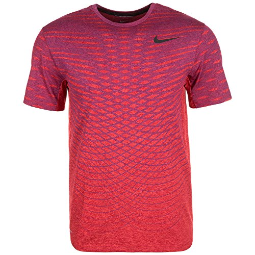 Nike Men's Ultimate Dry Knit Training Shirt XX-Large Red Blue