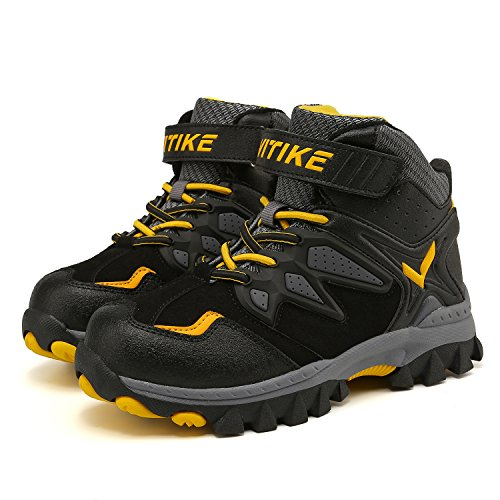 Boots Boys Waterproof Comfortable Snowshoeing Ankle Trekking Hiking Support Cilmbing ASHION Shoes fAO44