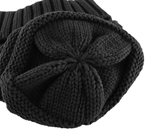 Novawo Trendy Winter Warm Hats Slouchy Beanie Baggy Beanie Knit Hats for Women