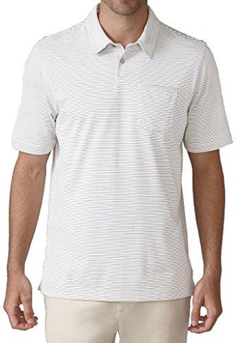 - Ashworth Jersey Mini Stripe Pocket Golf Shirt