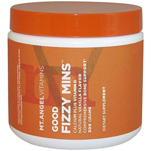 Mt. Angel Vitamins - Good Fizzy Mins, Bone Support, Calcium Plus Vitamin D Comprehensive Bone Support (600 Grams)
