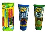 Baby : Crayola Bathtub Crayons 9 ct + Crayola Bathtub Fingerpaint Soap 2 ct
