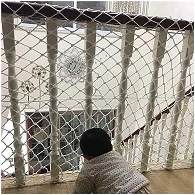 Red de Protección para Niños, Múltiples Ideal para Colocar en Balcones, Terrazas, Puertas, Ventanas o Escaleras Malla Protección de Seguridad, Poliéster de Alta Resistencia de Nylon: Amazon.es: Hogar