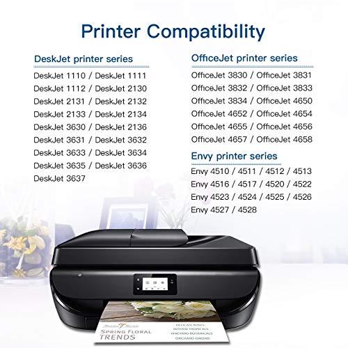 63XL 63 XL Ink Cartridge For HP Deskjet 2133 2136 Envy 4525 4528 OfficeJet 5258