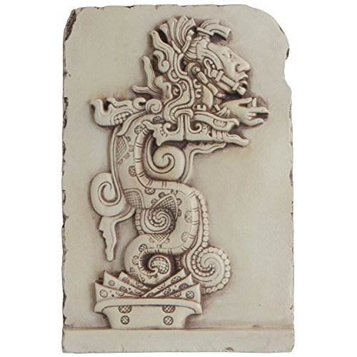 Culture Spot Mayan Serpent Spirit Realm Wall Relief | 7.5 Inches