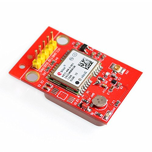 Gowoops GPS Module U blox NEO 6M with TTL Ceramic Passive Antenna for Arduino Raspberry Pi 2 3 B+ MCU