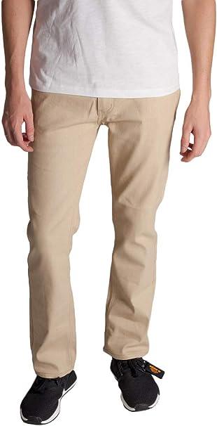 Kayden K Men/'s Skinny Stretch Raw Denim Jean