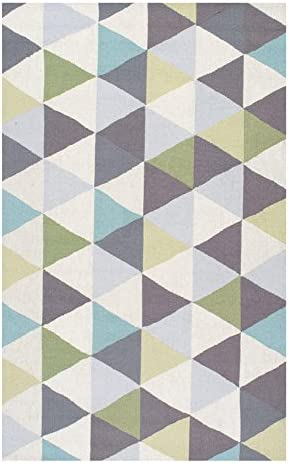 Nuloom 8 6 x 11 6 Hand Hooked Anderson Rug in Green