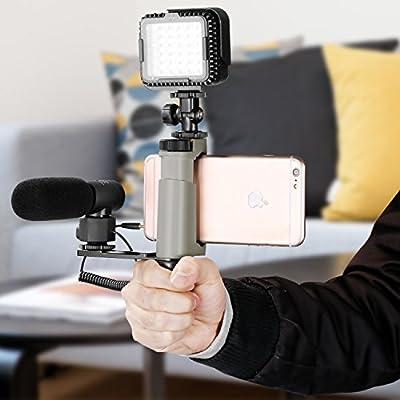Neewer Smartphone Jaula Rig Grip con Soporte para Montaje en Frío ...