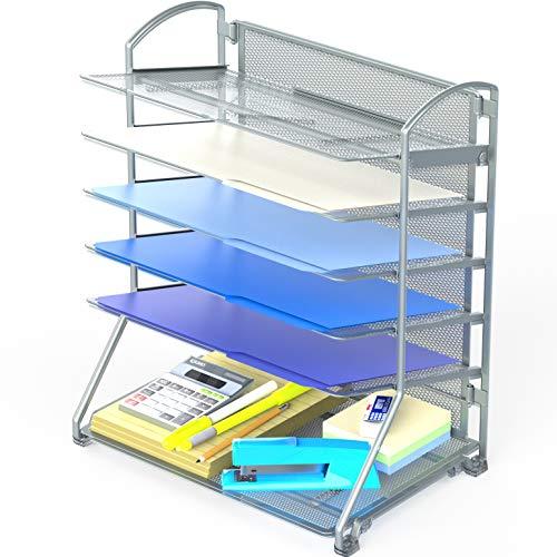 SimpleHouseware 6 Trays Desktop