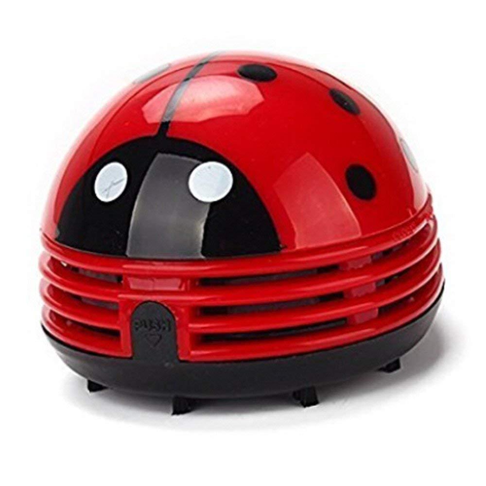 てんとう虫掃除機 - ミニ掃除機ポータブルコーナーデスク掃除機ミニかわいい掃除機ダストスイーパー B07P9ZFMQ9