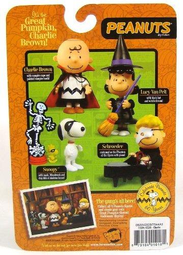 peanuts halloween vampire charlie brown figure
