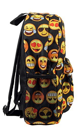 New-Design-Backpack-Cute-Backpack-Kids-School-Backpack-With-Emoji-Black-Big-Face