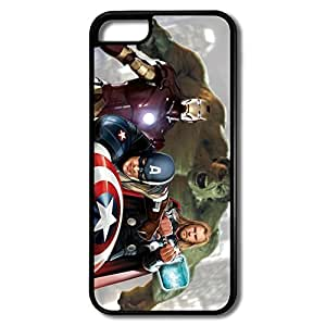 Nerd Marvels Avengers IPhone 5c Hard Plastic Case Covers Scratch Resistant