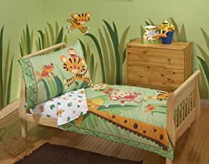 Fisher-Price Rainforest 4-Piece Toddler Set (Discontinued by Manufacturer)