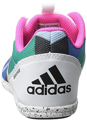 Adidas Donne Donne W Distancestar Scarpe Da Corsa Con Punte Nero / Bianco / Rosa Scossa