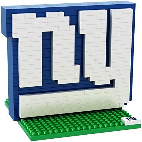 packaging may vary NFL Team BRXLZ 3D Logo Puzzle Set