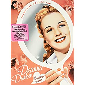 Deanna Durbin Sweetheart Pack (Three Smart Girls / Something In the Wind / First Love / It Started with Eve / Can't Help Singing / Lady on a Train) (1936)
