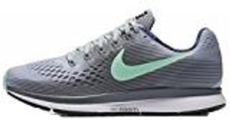 Zapatillas para correr de mujer Nike Air Zoom Pegasus 34, Gris (gris), 6.5 B(M) US: Amazon.es: Zapatos y complementos