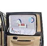 PANDA SUPERSTORE Automotive Sun Protection Curtains