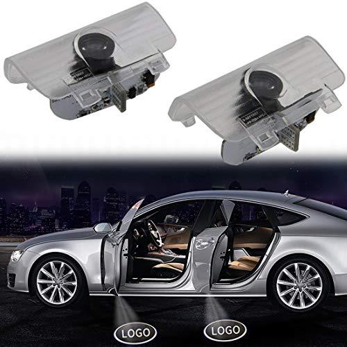 Welcome Light For Spirior Car Door Lights HD LED Car lights for Door Car Ground Lights for Honda Spirior Odyssey CR-Z Elysion Error Free Plug and Play 2-pack