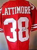 Marcus Lattimore Signed Jersey - Gtsm Coa Sf - Autographed NFL Jerseys
